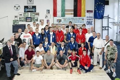 Team Csongrad und Team Brandenburg